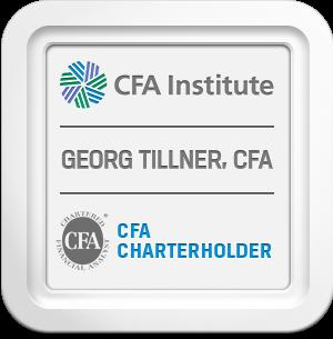 Mag. Georg Tillner, CFA - CFA Charterholder